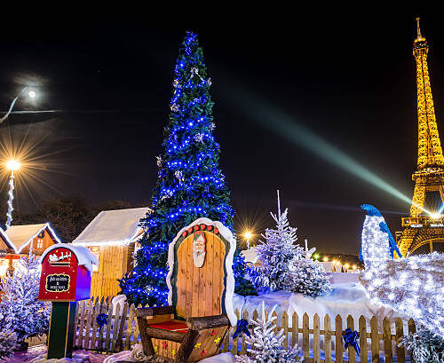 The 6 cities with the most beautiful Christmas decorations