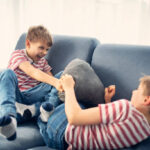 What to do if children fight at all hours