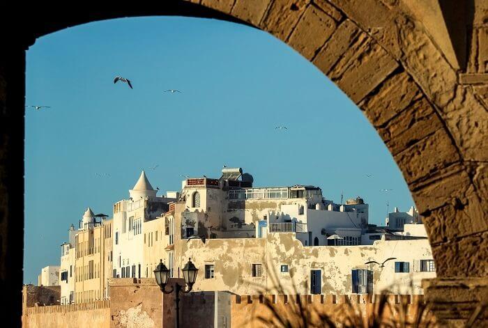 Old port city Essaouira Morocco