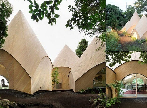 Welcome To Hidden Forest House In Japan.