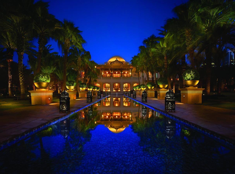 glimpse of the resort