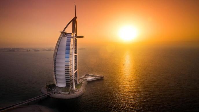 one of the fanciest hotels in Dubai